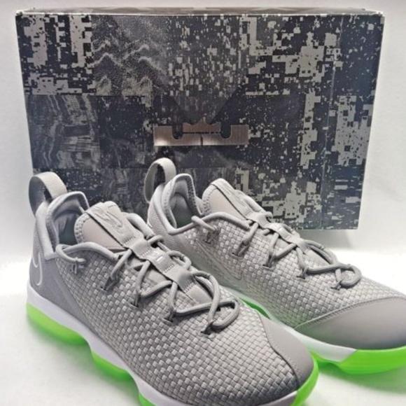 78ff77c58de Nike LeBron XIV Low Dust Reflective Sneakers